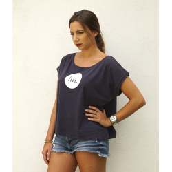 T-Shirt Femme - Bleu Vintage