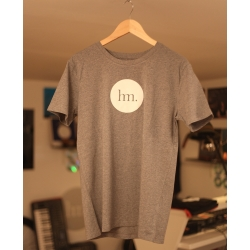 T-Shirt Hungry Music - Modèle Homme - Gris Chiné