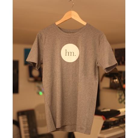 T-Shirt Hungry Music - Modèle Homme - Gris Chiné