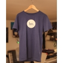 T-Shirt for Men - Heather Indigo