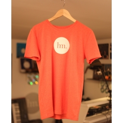 T-Shirt Homme - Rouge Chiné