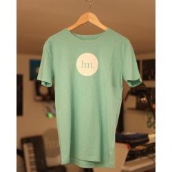 T-Shirt Homme - Vert Chiné