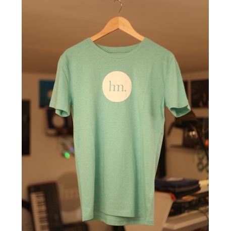 T-Shirt Hungry Music - Modèle Homme - Vert Chiné