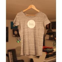 T-Shirt Femme - Gris Chiné