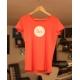 T-Shirt - Femme - Rouge Chiné
