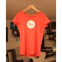 T-Shirt Femme - Rouge Chiné