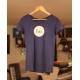 T-Shirt - Femme - Indigo Chiné