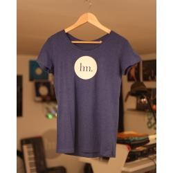 T-Shirt for Women - Heather Indigo