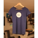 T-Shirt Femme - Indigo Chiné