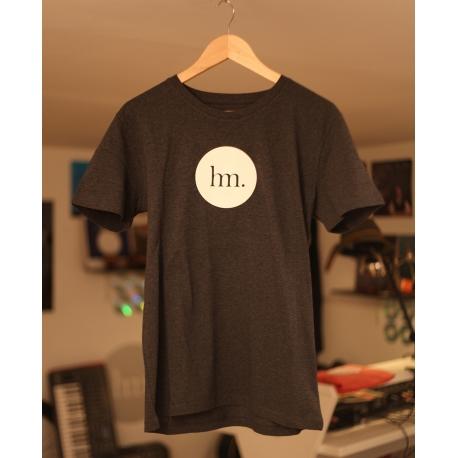 T-Shirt Hungry Music - Modèle Homme - Gris Foncé Chiné