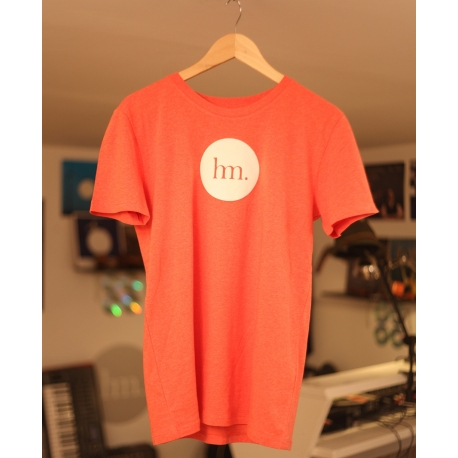 T-Shirt Hungry Music - Modèle Homme - Rouge Chiné